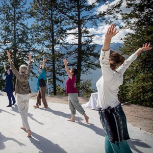 Body as a Temple: Hidden Language Hatha Yoga, Sacred Dance and Relaxation @ Yasodhara Ashram