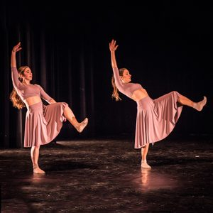 DanceFusion: Slava Doval and Olivia Castiglione with local youth dancers