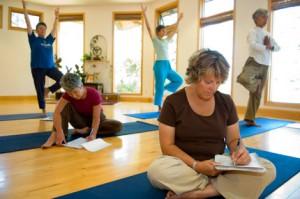 Hidden Language Hatha Yoga @ Yasodhara Ashram