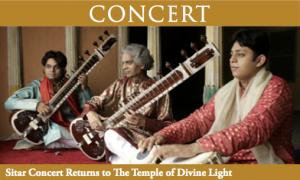 Sitar Concert - The Mishras @ Yasodhara Ashram